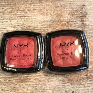 NYX Powder Blush - Mocha & Pinched - New & Sealed